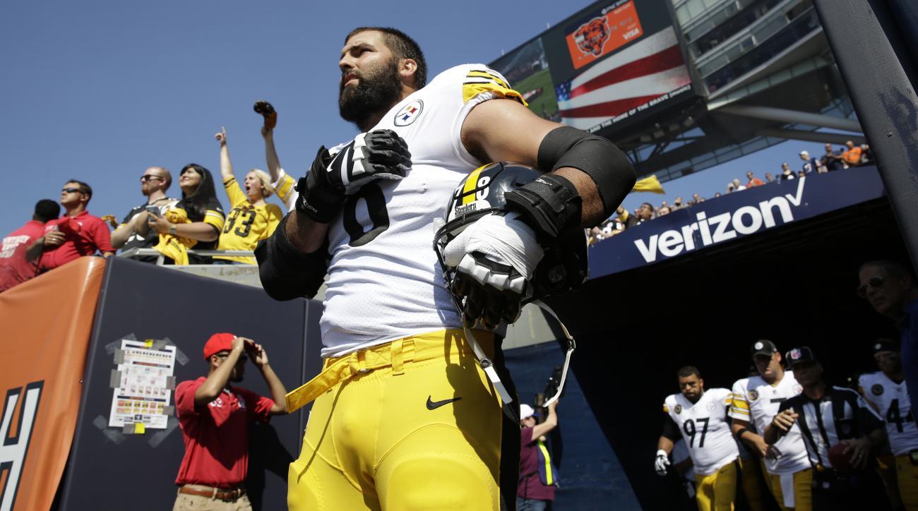 Steelers surprised by Villanueva