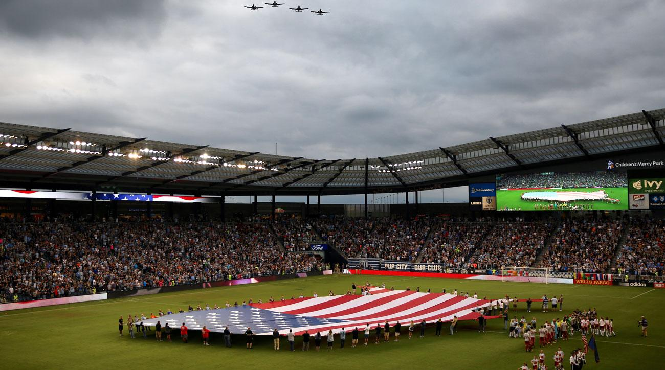 Athletes around the USA have protested during the national anthem but none so far in MLS