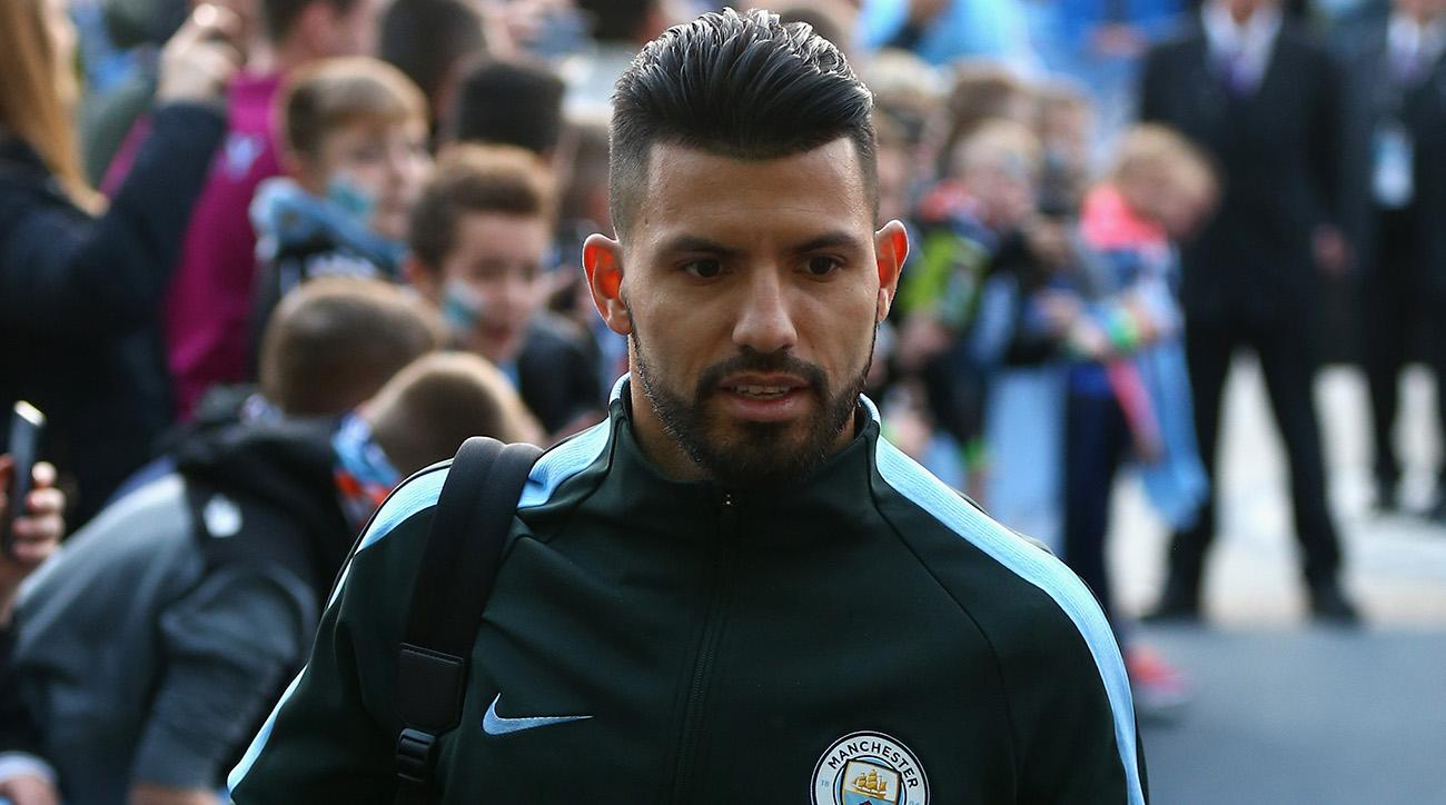 Man City's Aguero hurt in auto crash