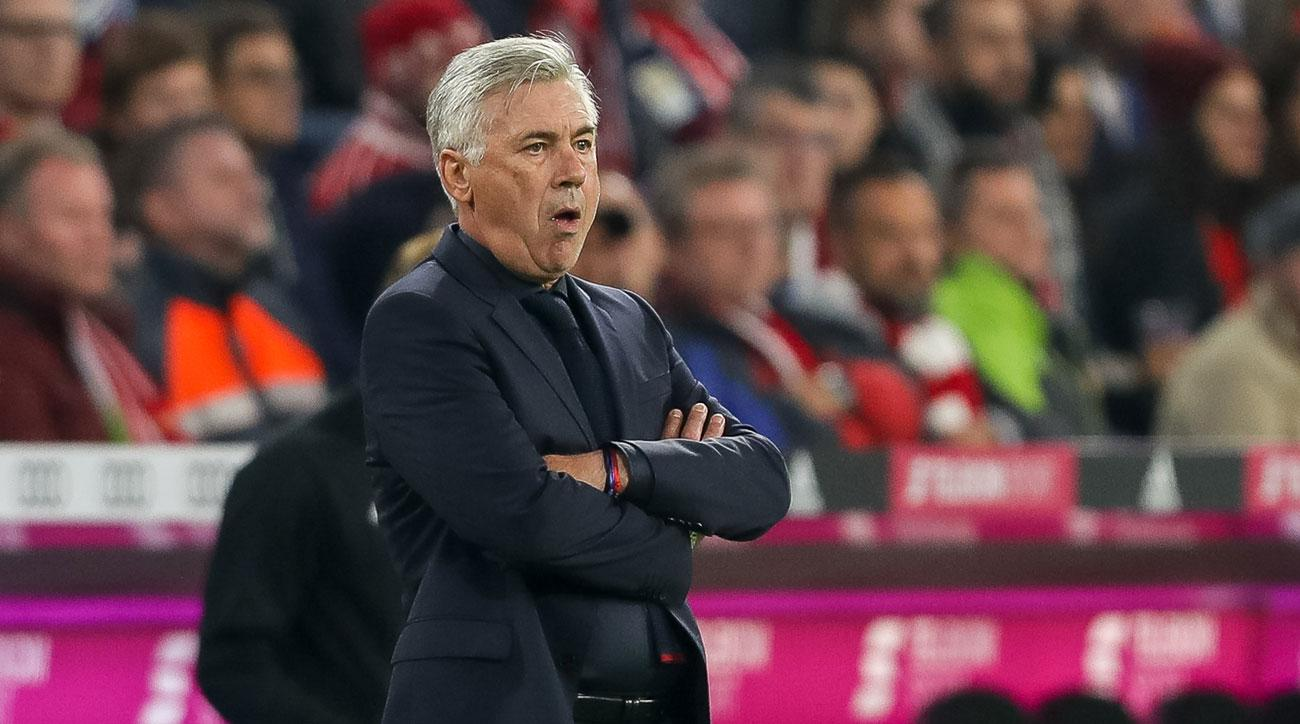 Carlo Ancelotti has been fired as manager of Bayern Munich