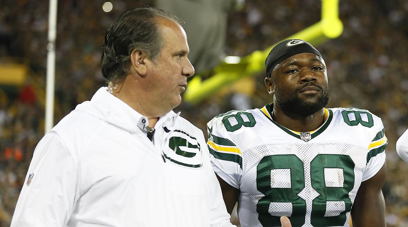 Packers RB Ty Montgomery's injury not as bad as Green Bay thought