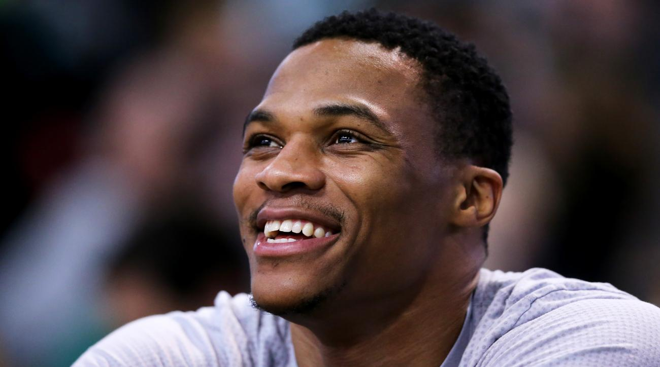 Russell Westbrook Thunder Agree To 205m Contract Extension Si