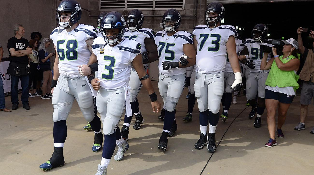 seattle seahawks, tennesee titans, national anthem protests, colin kaepernick, donald trump
