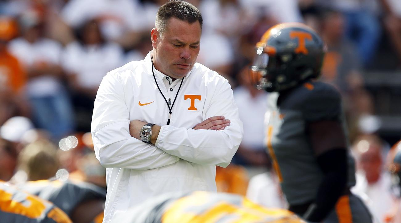 Fire Butch Jones? Tennessee vs. Georgia final score, reaction, highlights