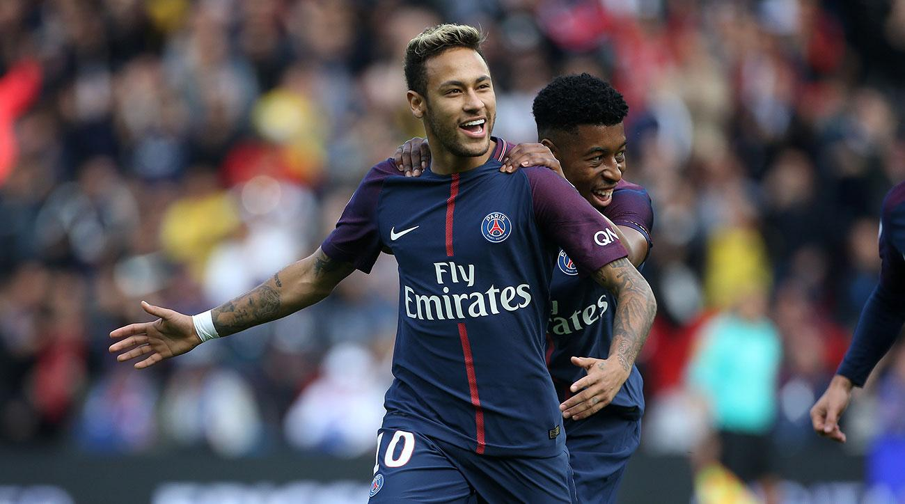 Neymar Scores Two Goals as PSG Rout Bordeaux 6-2