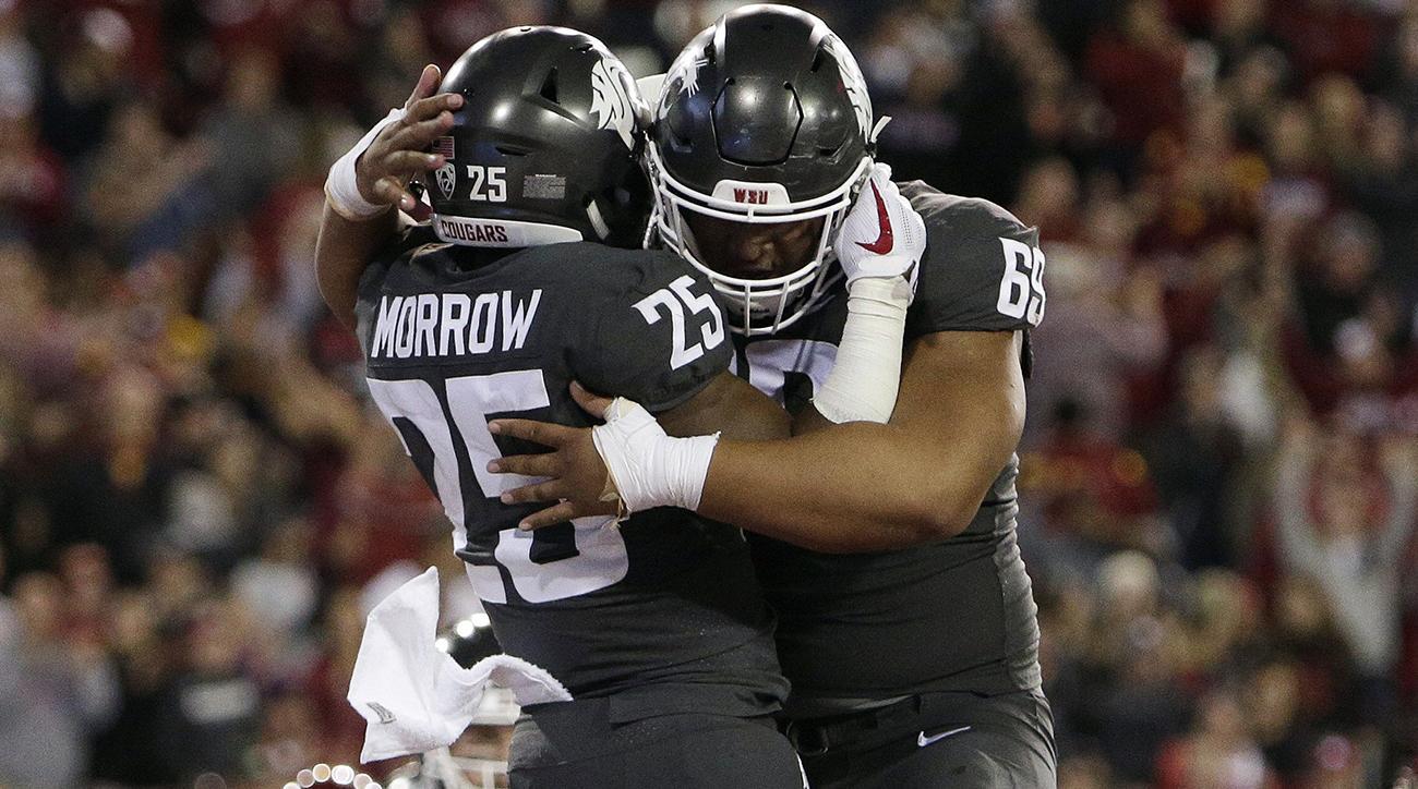 Washington State USC final score: Mike Leach, Jamal Morrow shine as Sam Darnold stumbles