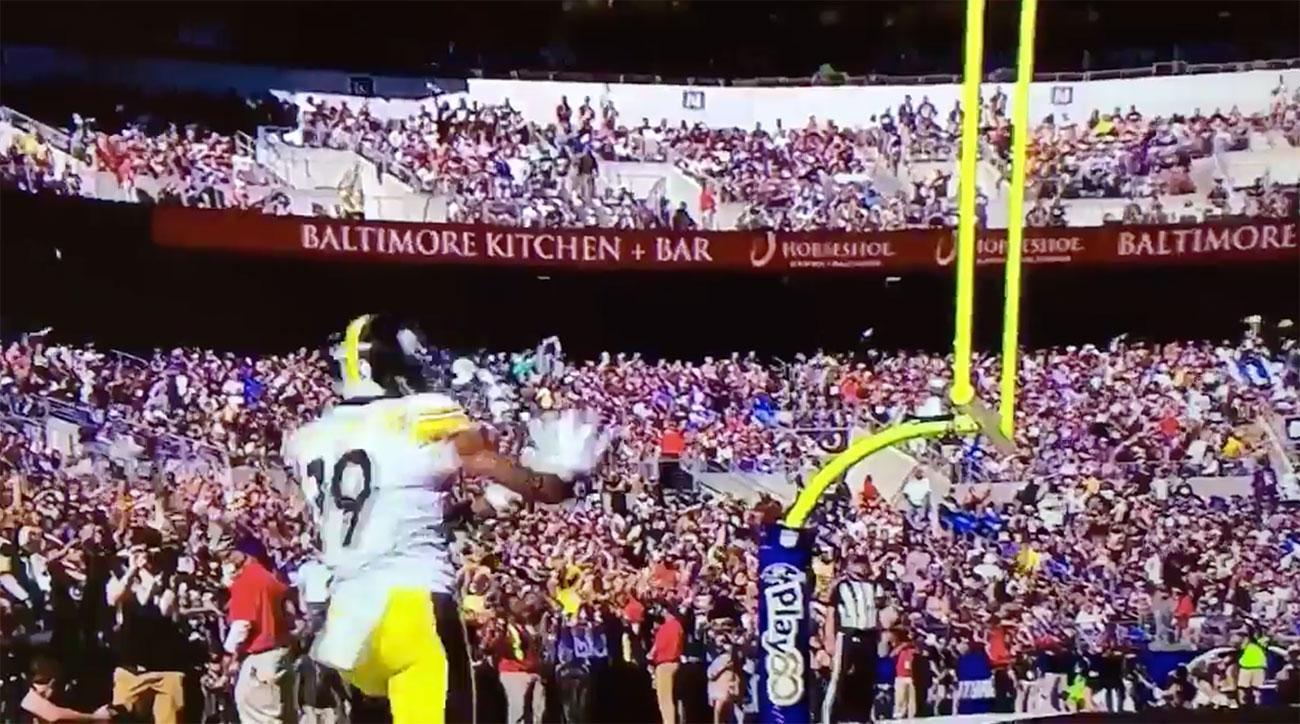 juju smith-schuster kamehameha touchdown celebration