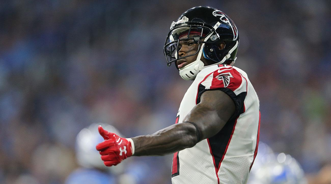 Julio Jones ruled out due to hip injury