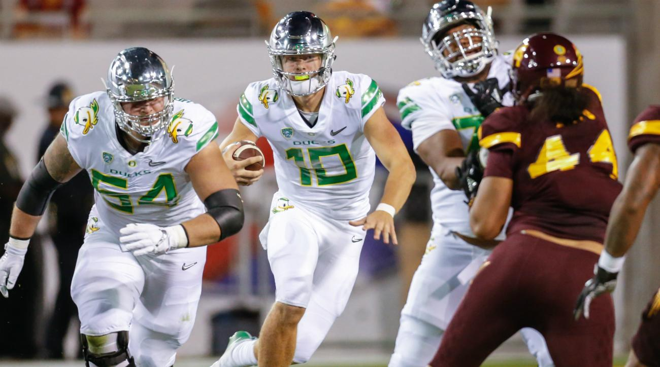 OR plagued by injuries in 45-24 win over California