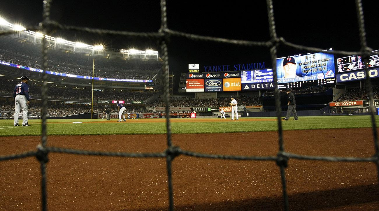 Yankees to expand netting