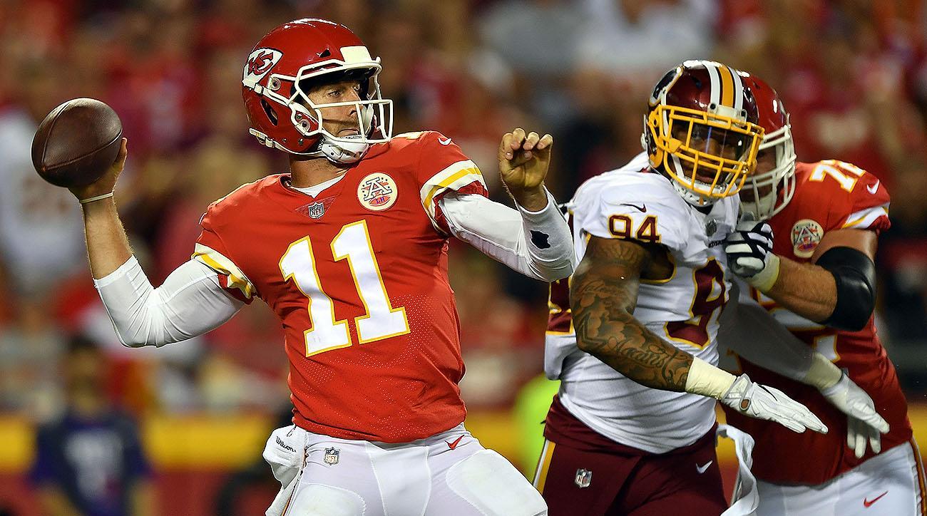 Chiefs QB Alex Smith vs. Redskins