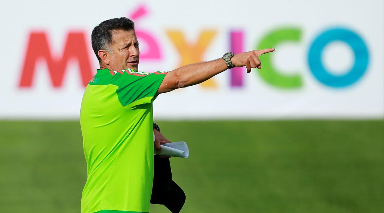 Juan Carlos Osorio and Mexico have already qualified for the 2018 World Cup