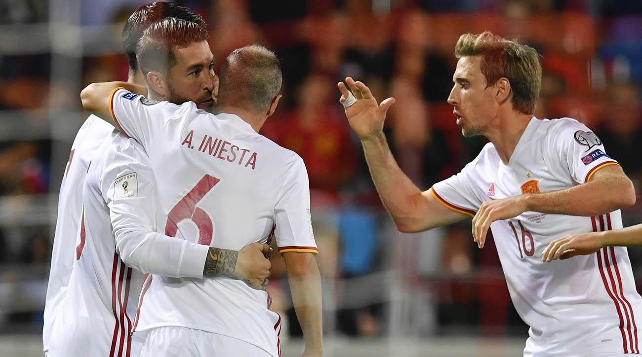 Spain coach Julen Lopetegui 'unhappy' after Albania win