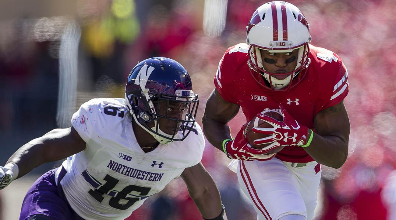 Huskers can't keep momentum against Badgers