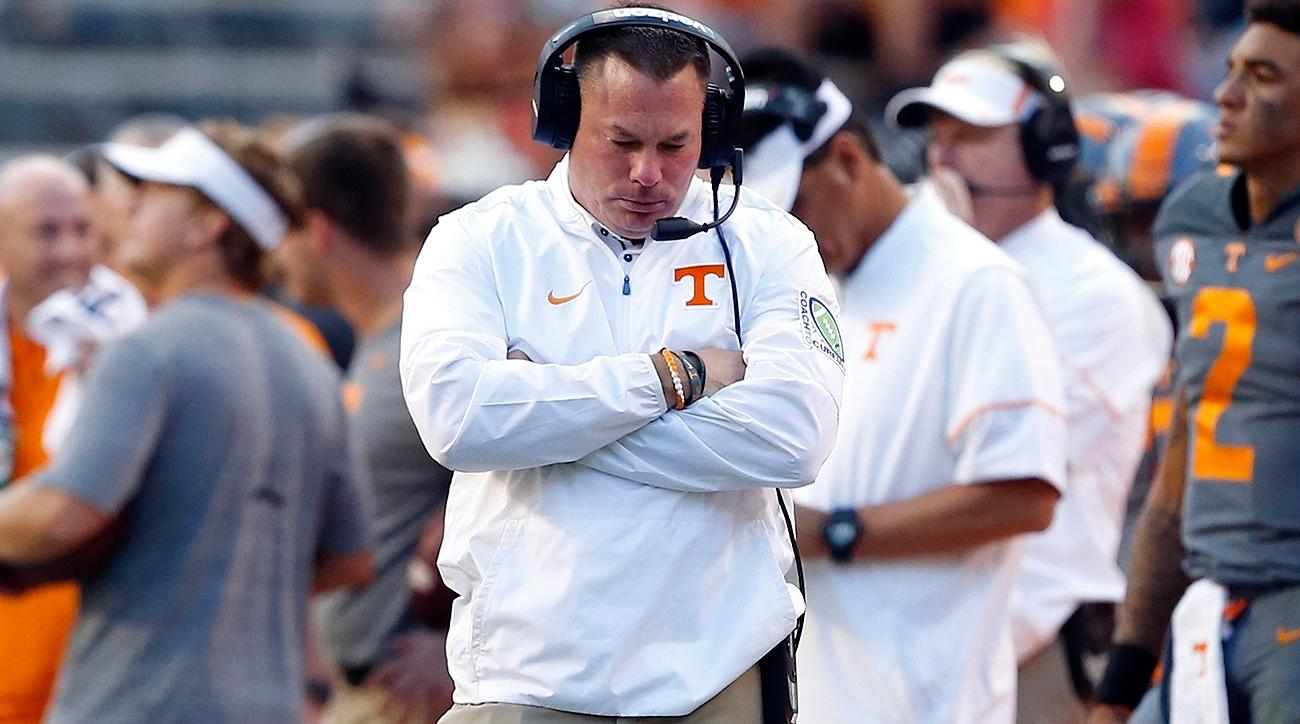 College football mailbag: Butch Jones and Ed Orgeron on the hot seat
