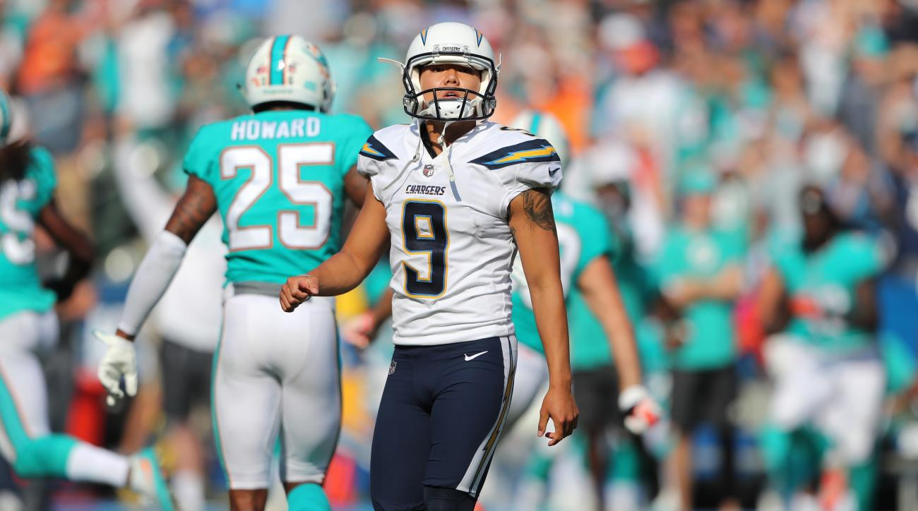 Chargers sign familiar face in kicker Nick Novak, waive Younghoe Koo