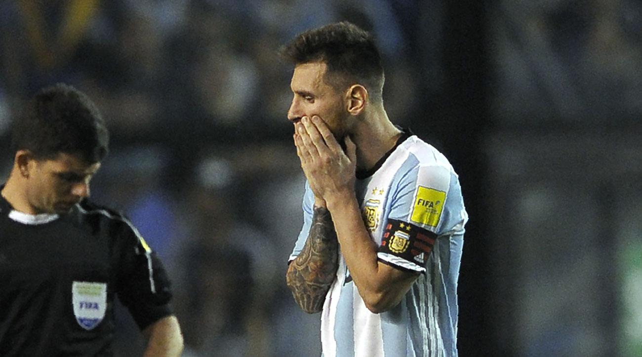 Lionel Messi and Argentina are struggling in World Cup qualifying
