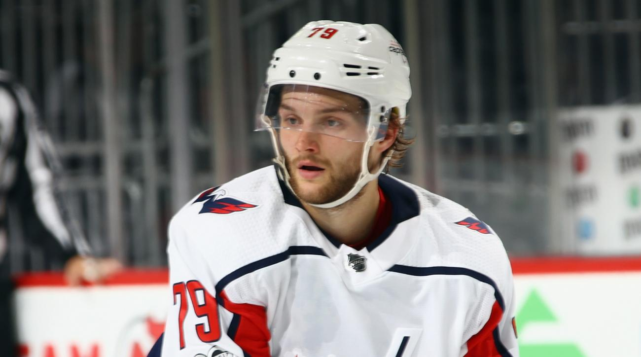 Nathan Walker: NHL's first Australian debuts for Capitals