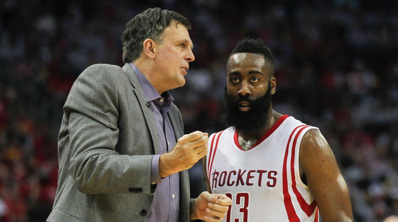 James Harden not a leader says Kevin McHale