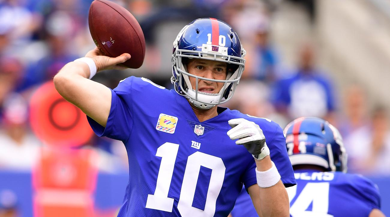 Giants Eli Manning Underwent An X Ray On His Neck Si Com
