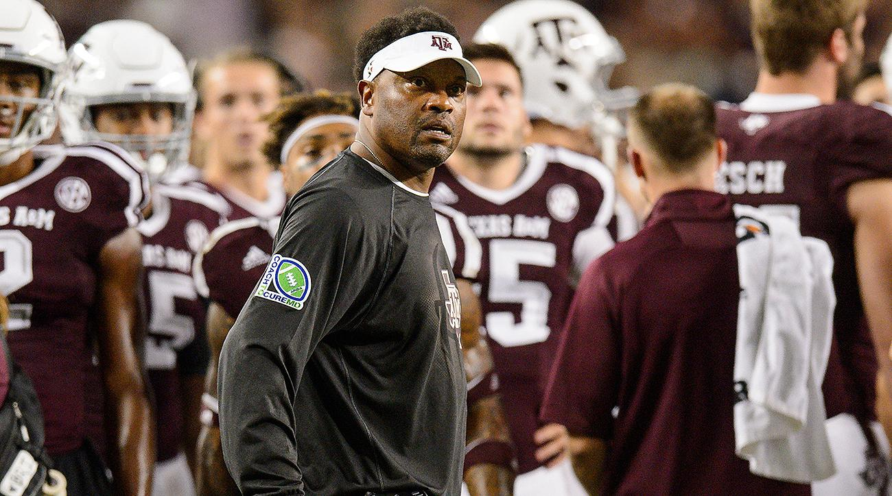 Kevin Sumlin: Texas A&M coach could need contract extension if Aggies keep winning