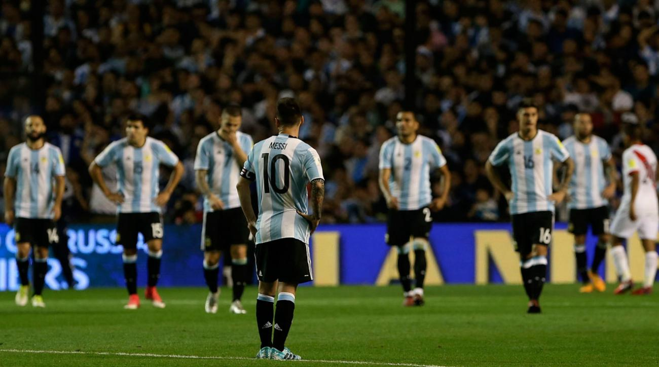 Argentina on precipice as 2018 qualification battle reaches climax