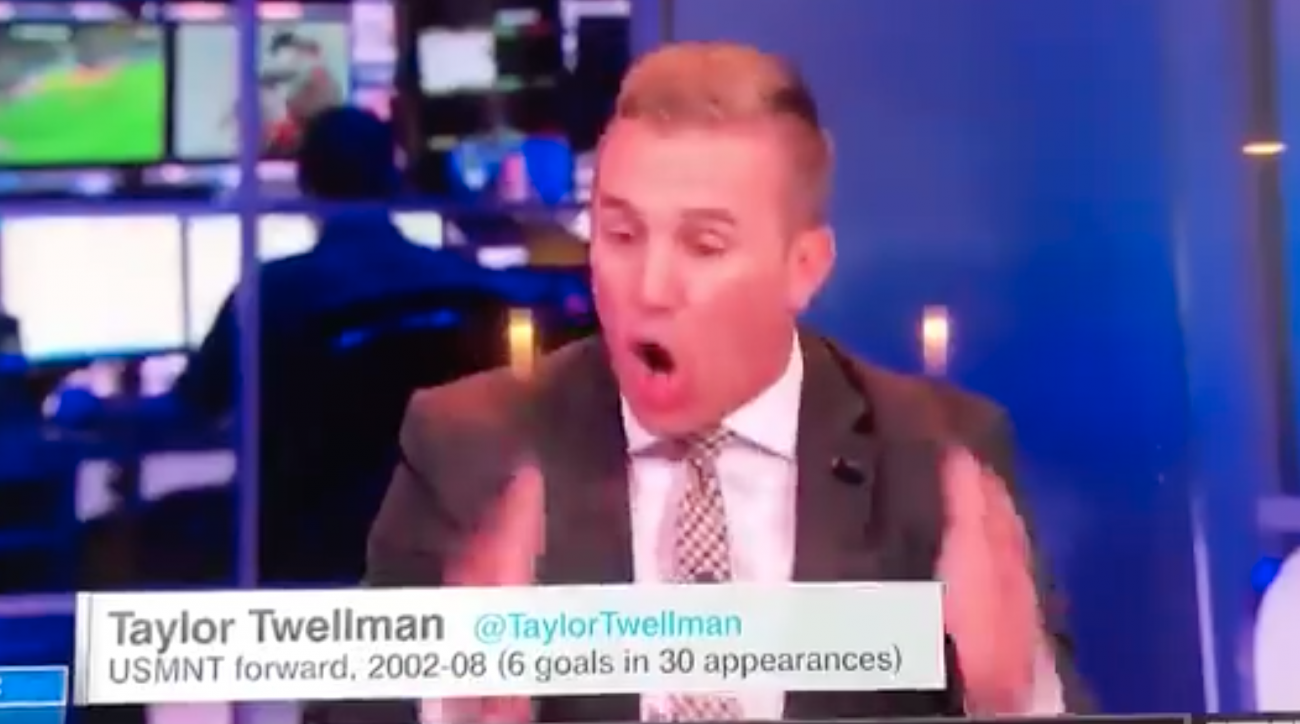 Taylor Twellman was irate after the USMNT missed the World Cup for the first time since 1986.
