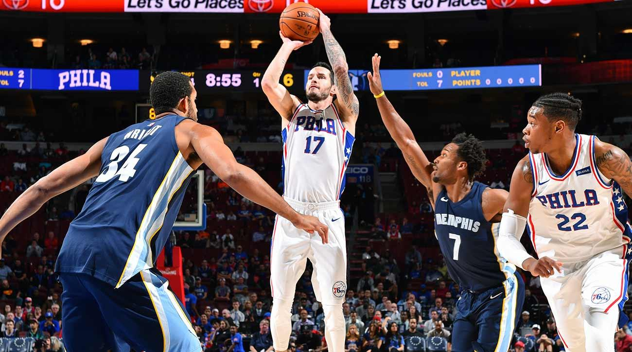 on sale 13e03 79b4b 76ers' J.J. Redick Does Everything From Long Distance | SI.com