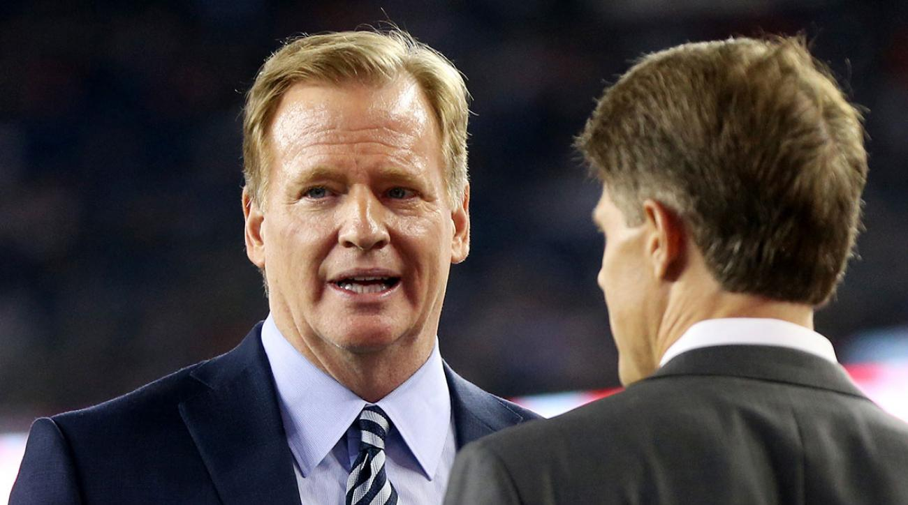 Roger Goodell issued a letter Tuesday hoping for a resolution to the league's anthem protest debate.