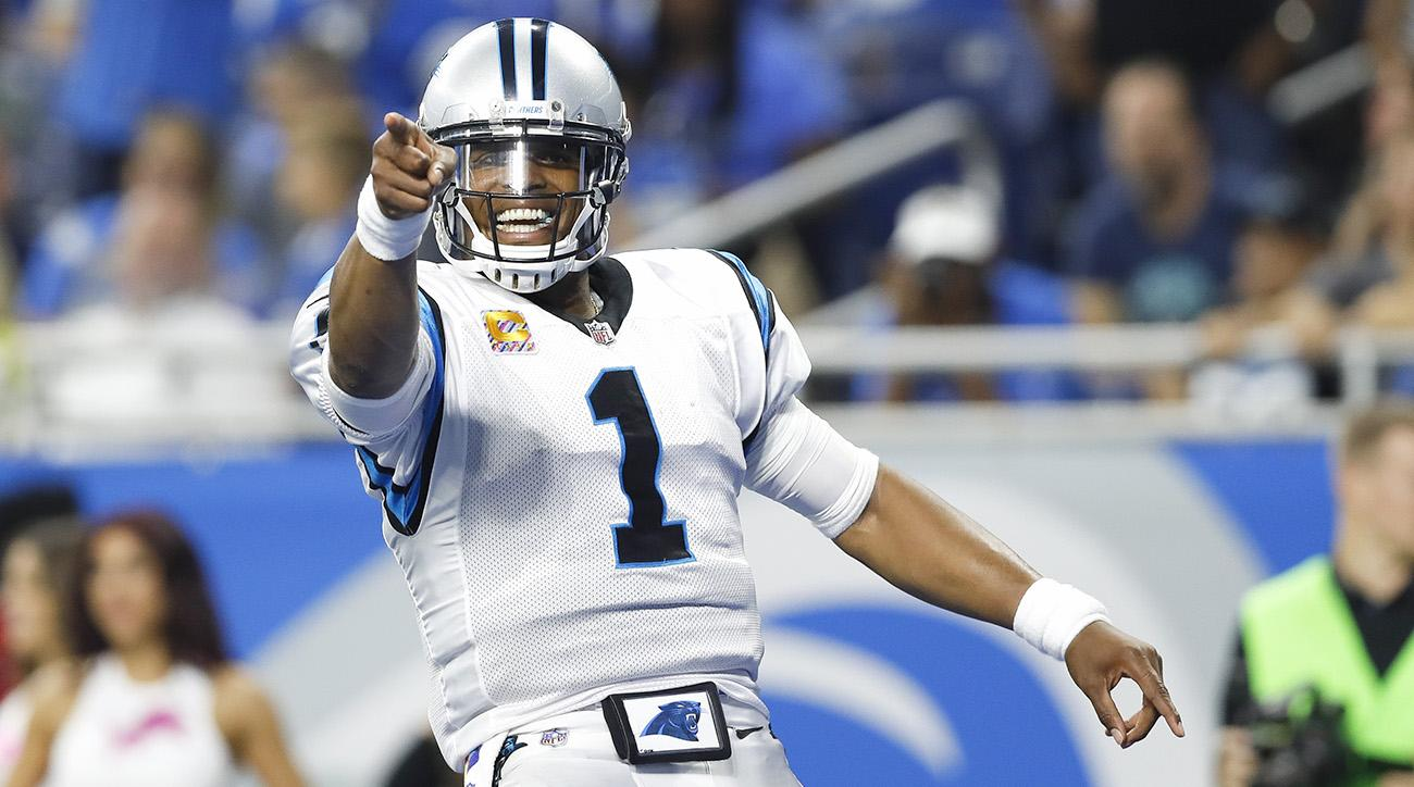 bb3ac23f6 Cam Newton, Panthers Playing Best Football Since 2015   SI.com