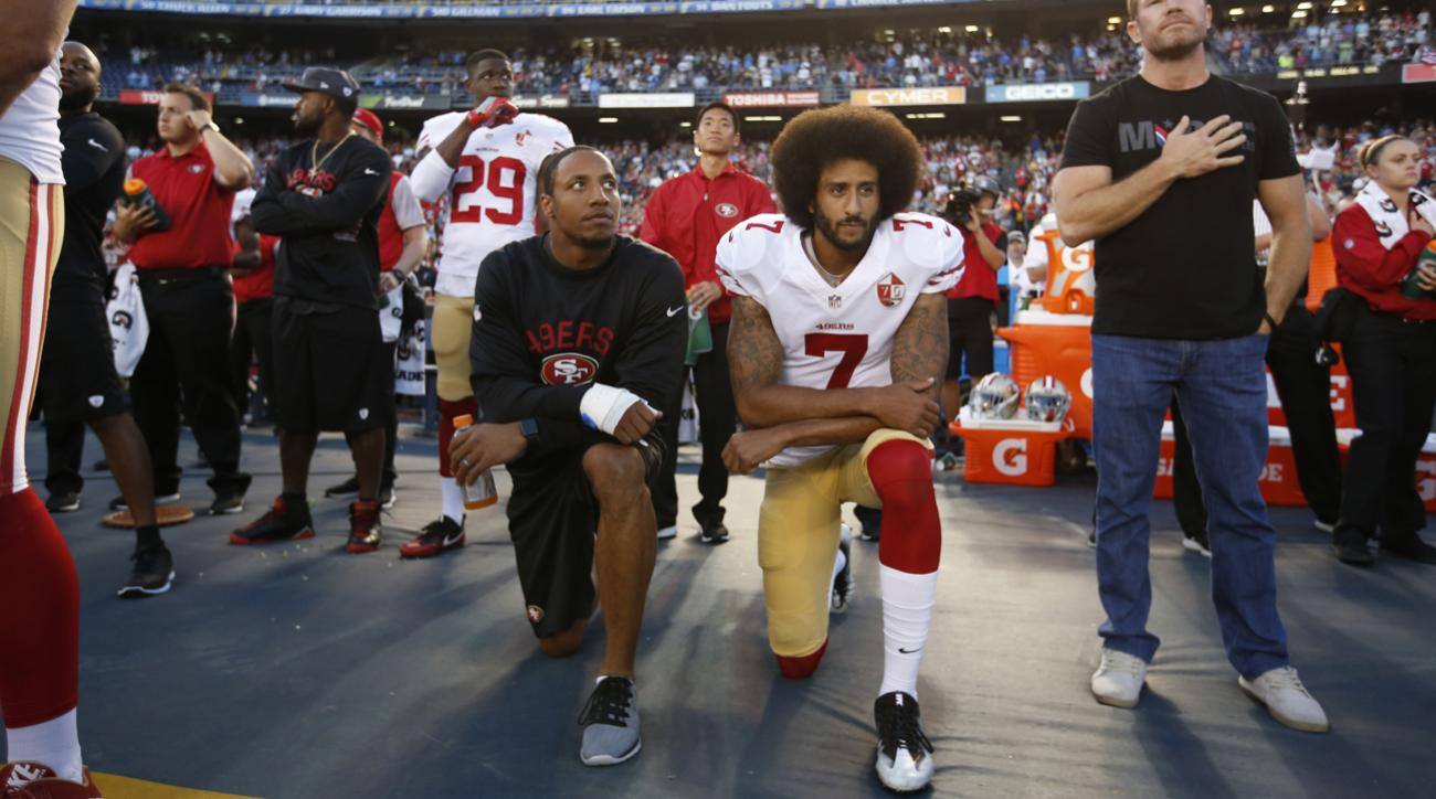 Colin Kaepernick considering collusion claim against National Football League owners