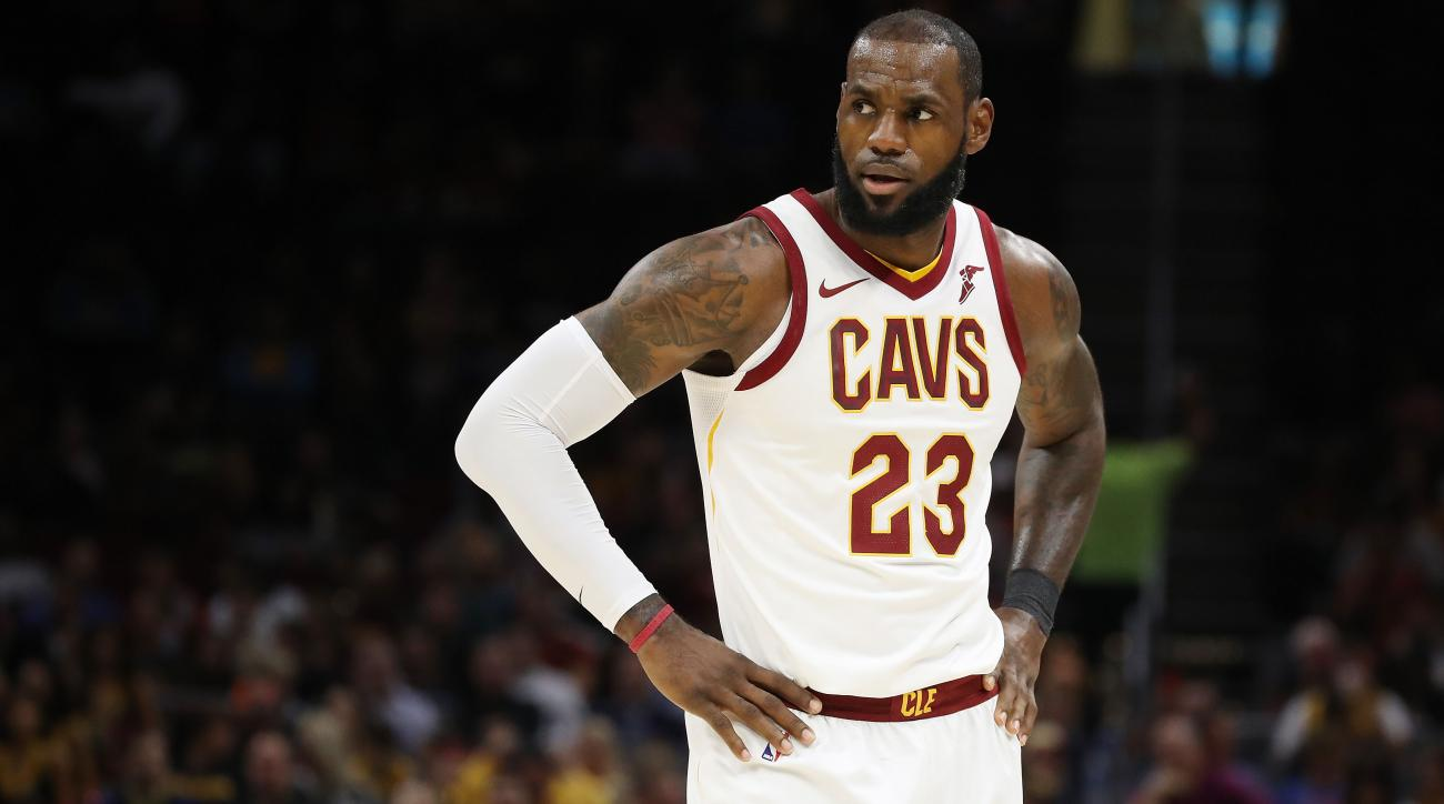 LeBron James injury news Cavaliers F could miss season opener