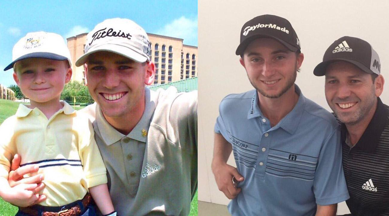 Austin and Sergio, then and now.