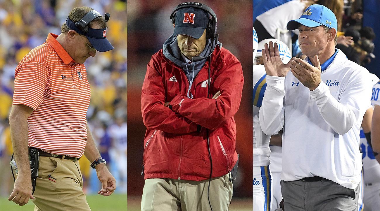 College football hot seat: Kevin Sumlin, Gus Malzahn, Jim Mora, Mike Riley, Bret Bielema