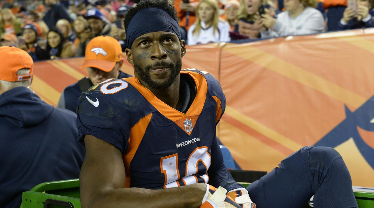 Emmanuel Sanders injury Broncos WR out for Week 7 vs Chargers