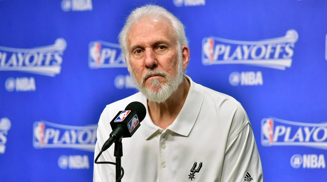 Spurs fan torches gear after Gregg Popovich's remarks on Trump