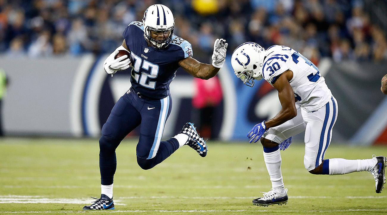 Titans RB Derrick Henry vs. Colts