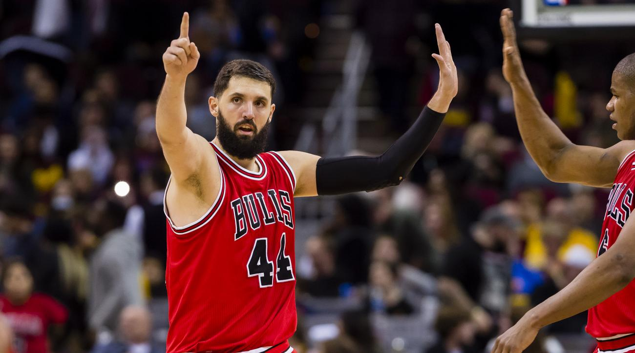 Bull' Mirotic suffers injury after altercation with Portis