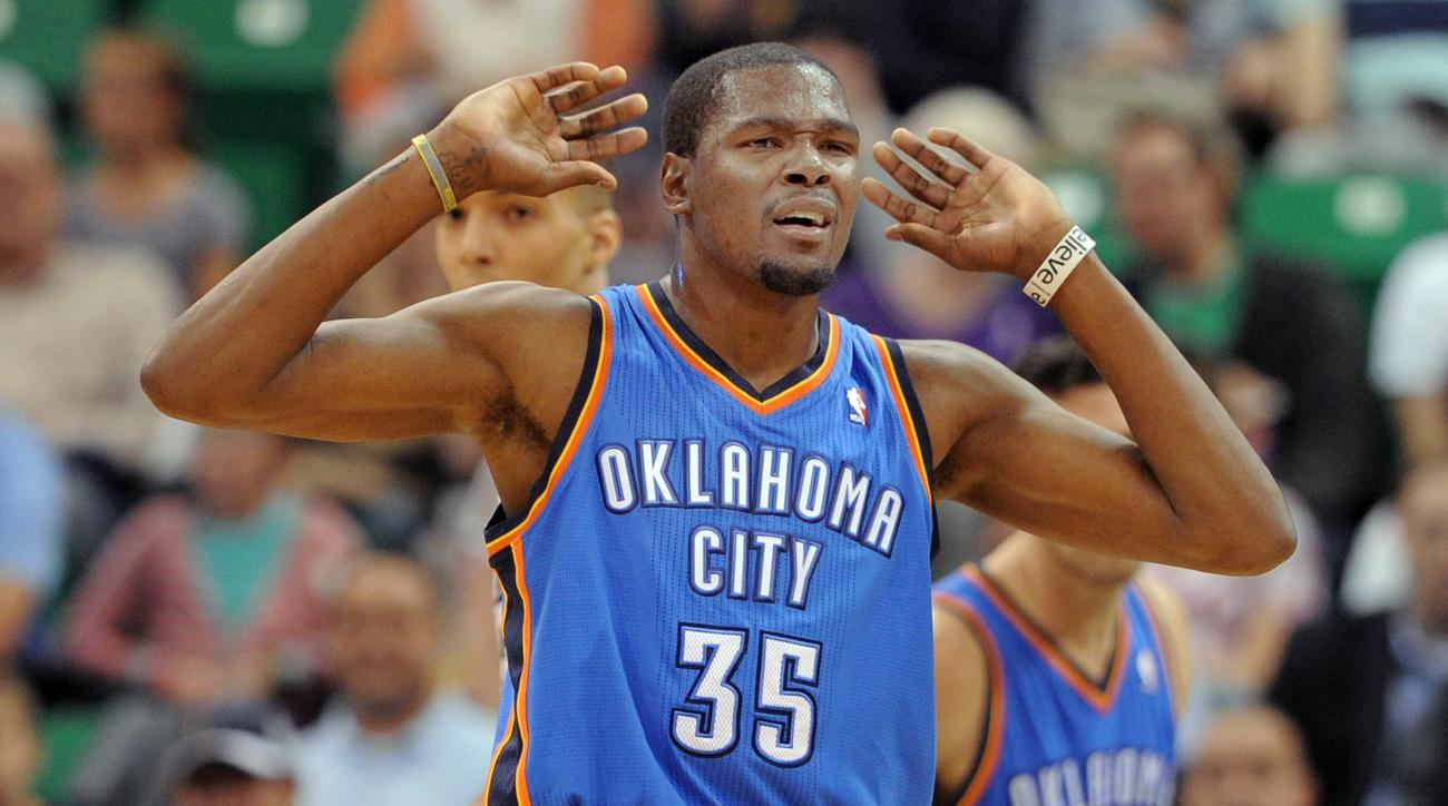 OKC Thunder give Kevin Durant s number to PJ Dozier