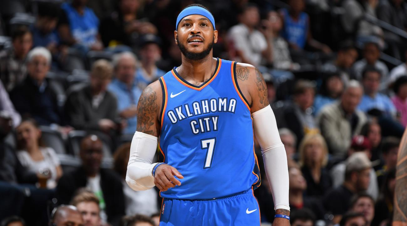 Carmelo Anthony: Felt like Knicks pushed me out