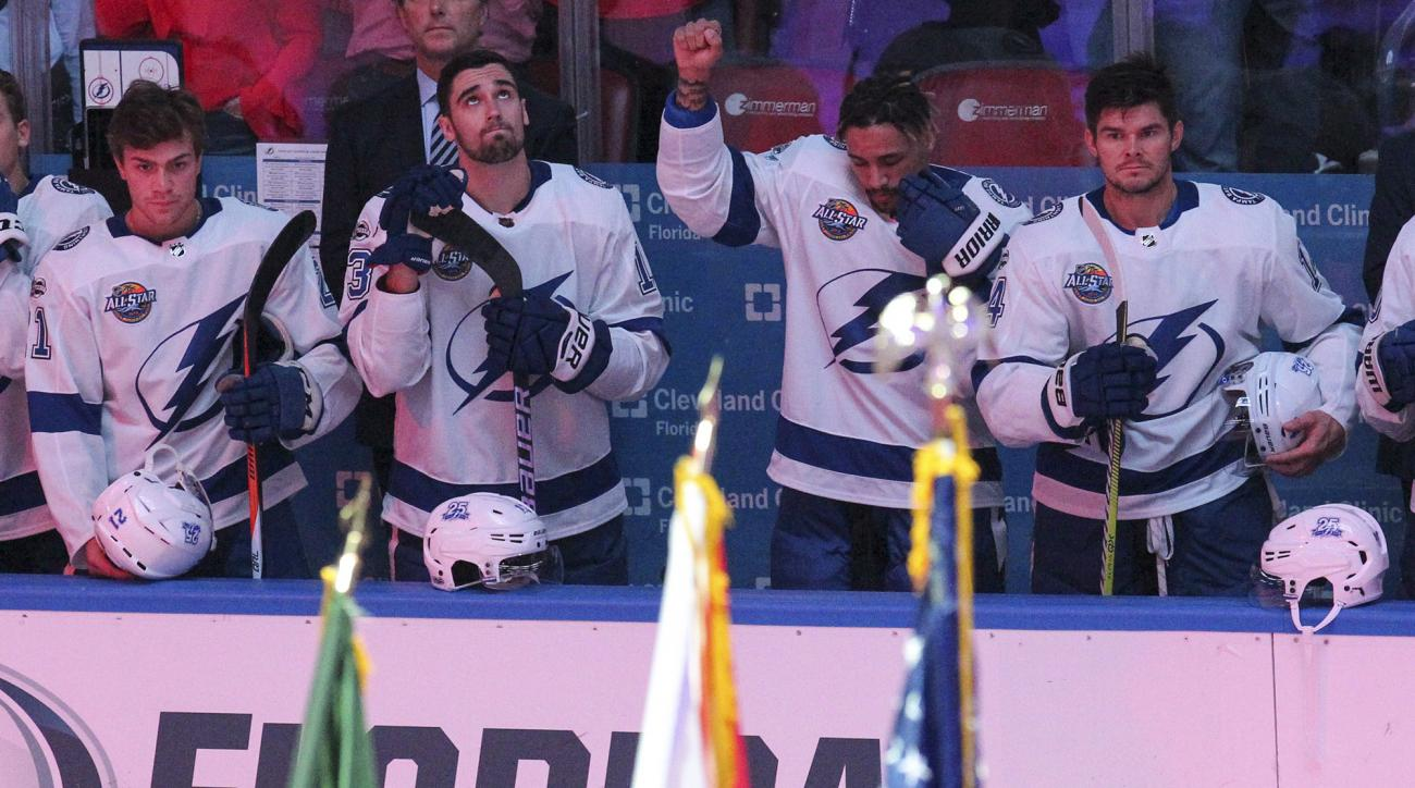 Lightning's JT Brown to stop anthem protest, focus on community involvement
