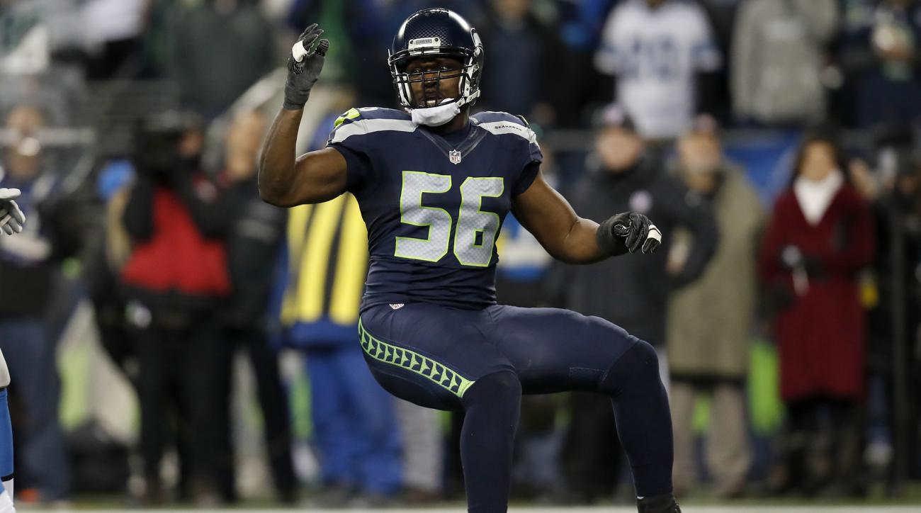 Despite injury, Seahawks' Cliff Avril is not ready to retire from football