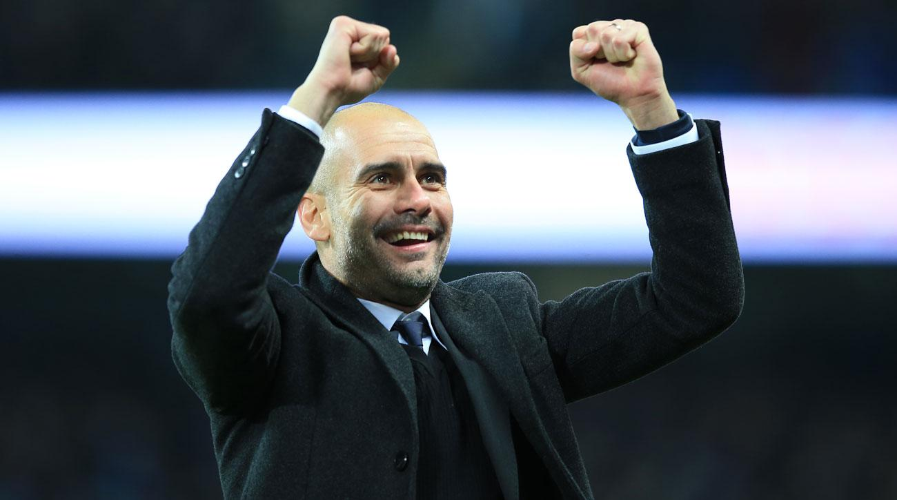 Guardiola's challenge to Premier League leaders Man City