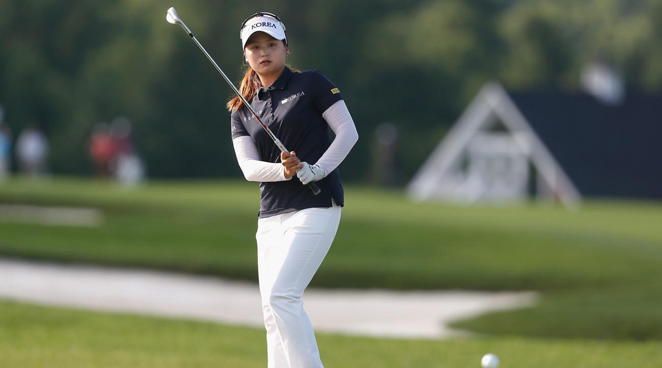 Choi Hye-jin is one of the golfers who was originally assessed a penalty at the KB Financial Star Championship.