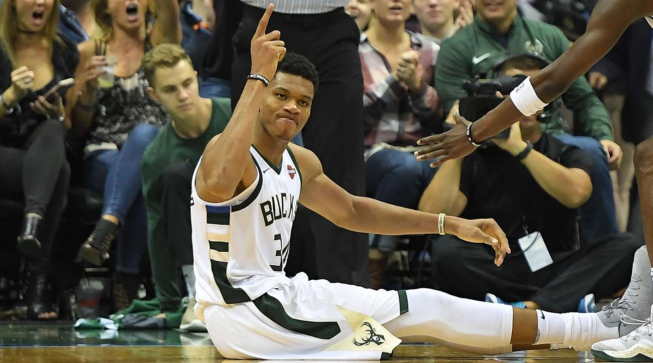 Giannis Antetokounmpo scores career-high 44, dedicates game to father