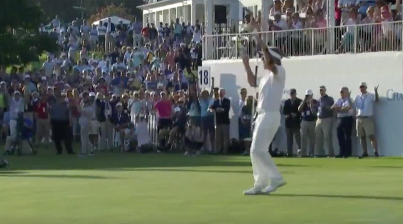 Bernhard Langer came up big in the clutch.