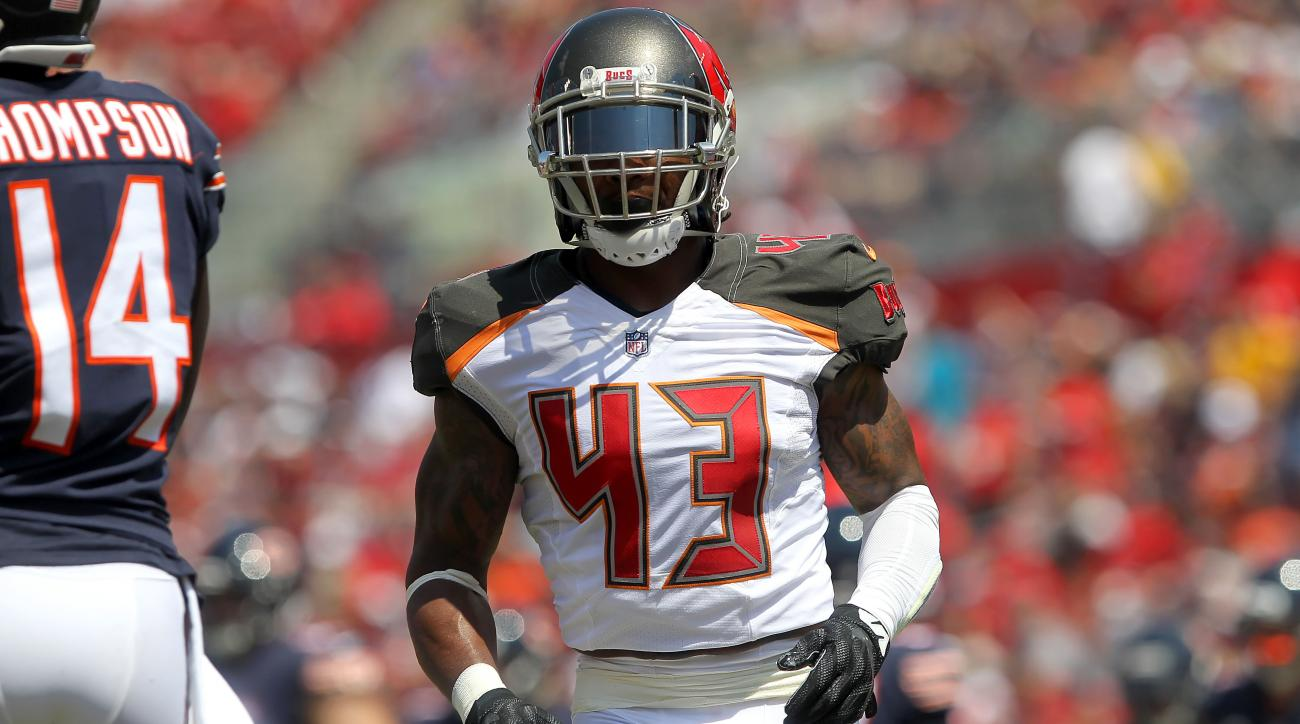 Buccaneers TJ Ward and Chris Baker ment on playing time