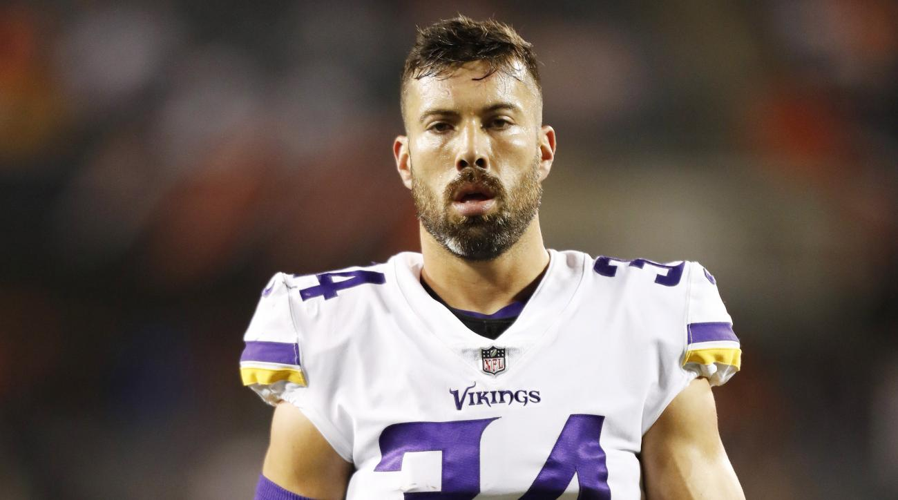 Vikings Andrew Sendejo suspended 1 game for illegal hit on Mike Wallace