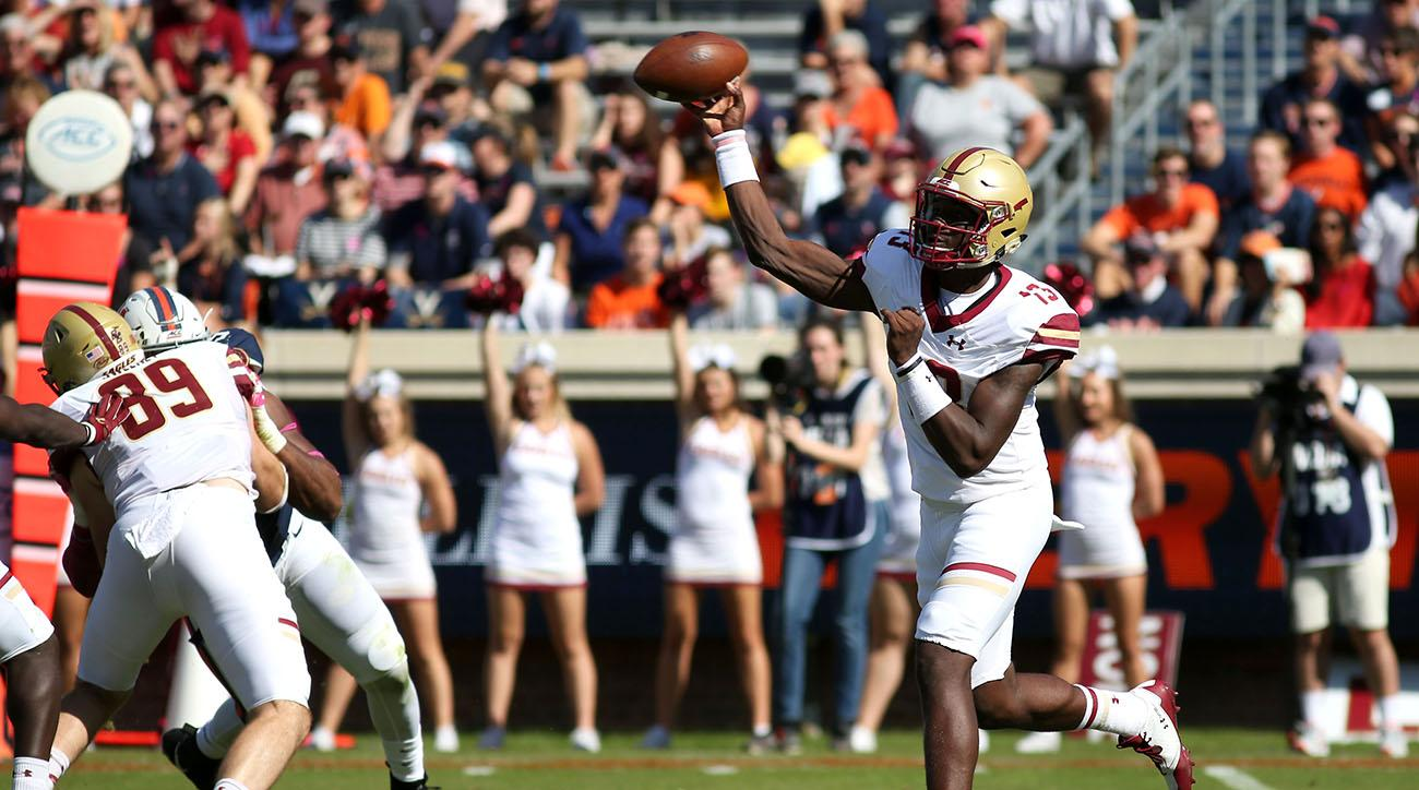 Boston College Pummels FSU, 35-3