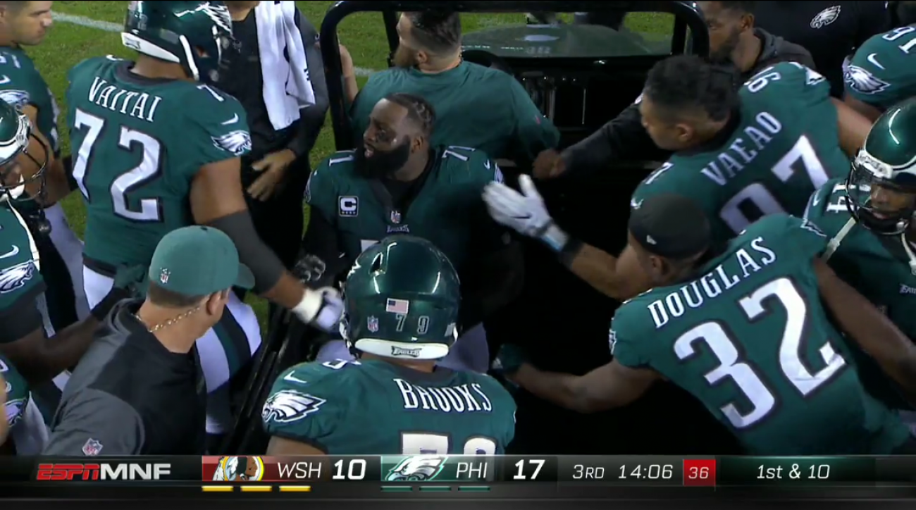 2adeee21a3b Jason Peters injury update: Torn ACL and MCL for Eagles LT   SI.com